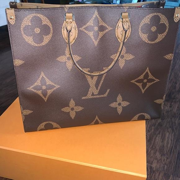 Louis Vuitton Handbags - ❌SOLD❌Louis Vuitton Giant Reverse On The Go Tote